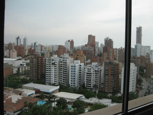 Barranquilla, from our hotel room in Alto Prado.