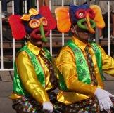 Marimonda... the signature image/costume of Carnaval in Barranquilla.