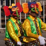 Marimonda... the signature image/costume of Carnaval in Barranquilla.