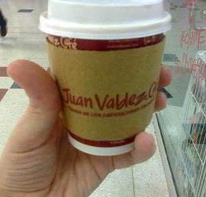 Fancy (and Pricey) Juan Valdez Coffee