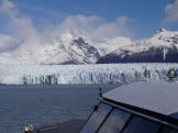 """We embark on a """"nautical safari"""" to see one side of the Perito Moreno's leading edge. Only now do we begin to understand the enormity of what we're seeing."""