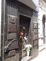 Eva Peron's tomb.