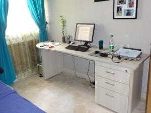 My custom desk - nice, but pricey.
