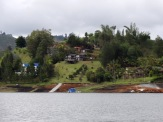 The man-made lake has given rise to many outdoor leisure activities - boating, fishing, zip lining, etc. - and to the return of posh urbanites who maintain luxurious weekend homes on its shores.