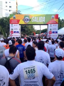 Barranquilla 10K 2012 Starting Line