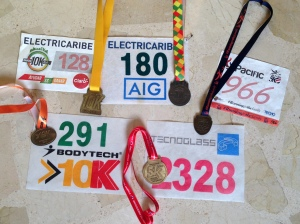 Running Medals and Numbers