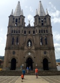 Jardín's cathedral.